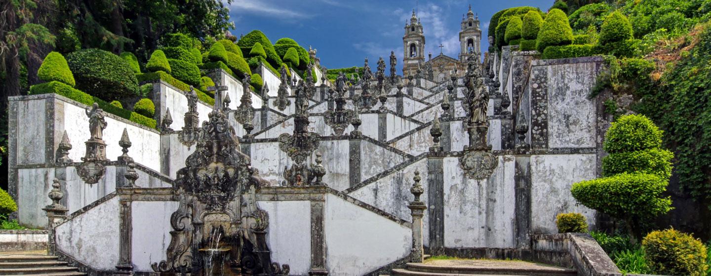 המדרגות לכנסיית בום ג'סוס, בראגה, פורטוגל