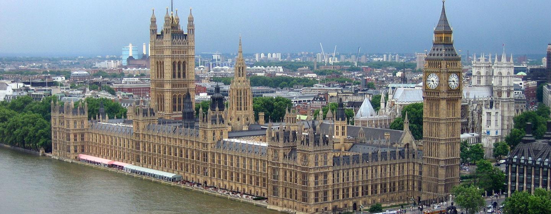 לונדון שעל גדת התמז