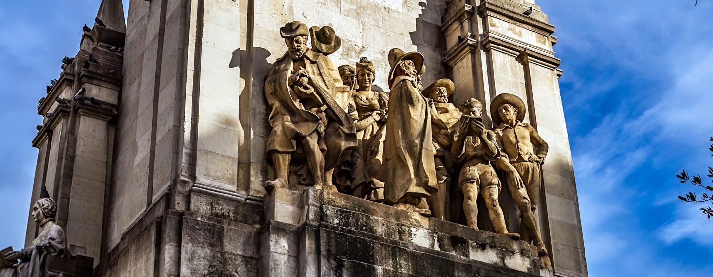 האנדרטה לסרוונטס במדריד