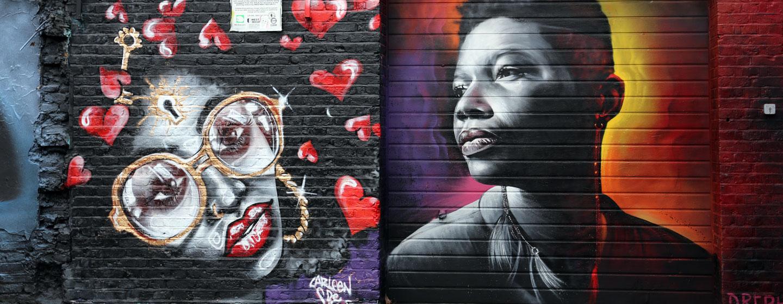 גרפיטי ברחובות לונדון