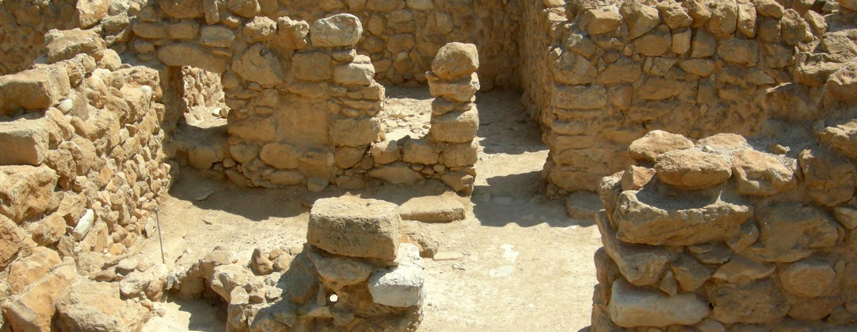 האתר הארכיאולוגי בגן הלאומי קומראן