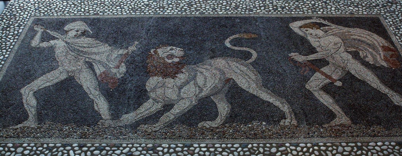פסיפס מפלה, מקדוניה, יוון