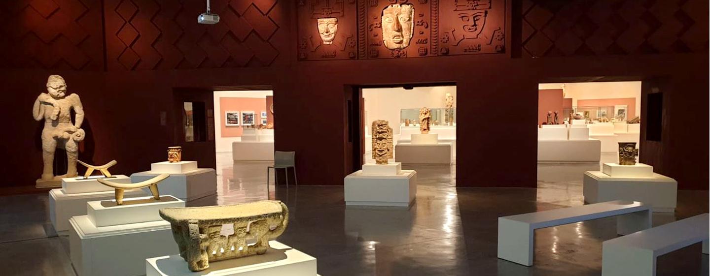 """מתוך התערוכה """"אלוהי התירס ואדוני הקקאו והמאגיי"""", מוזיאון ישראל"""
