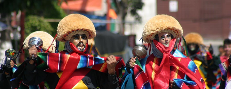 פיאסטה כפרית במדינת צ'יאפס במקסיקו