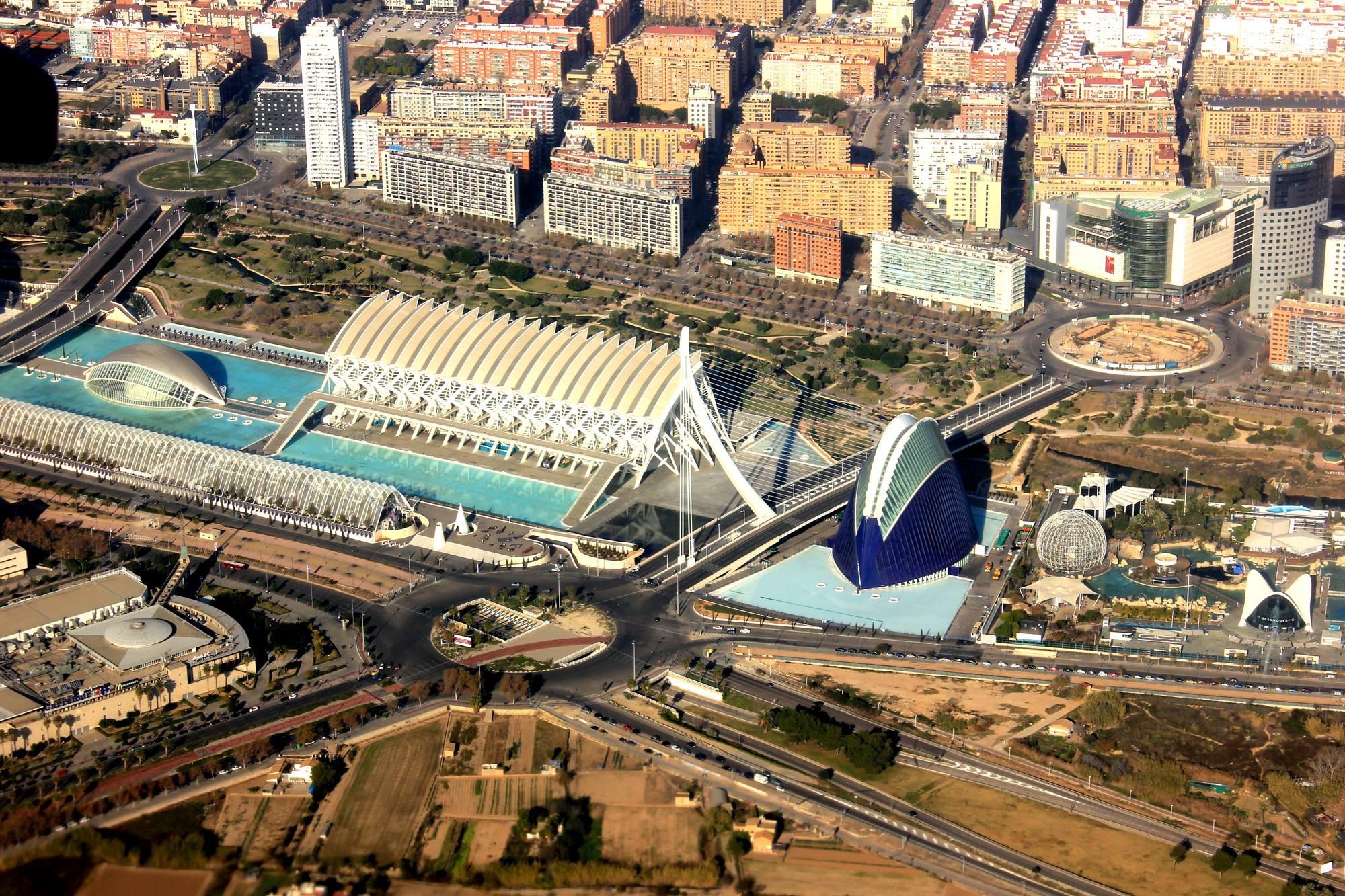 עיר האמנויות והמדעים בוולנסיה, ספרד