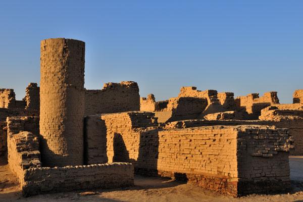 שרידי מוהנג'ו-דארו, אחת הערים הגדולות של תרבות עמק האינדוס | צילום: Usman Ghani
