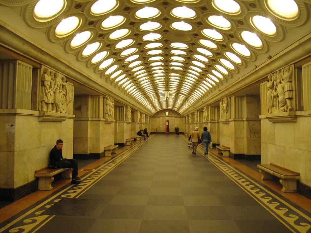 תחנת אלקטרוזבודסקאיה, המטרו של מוסקבה | Василий Овечко