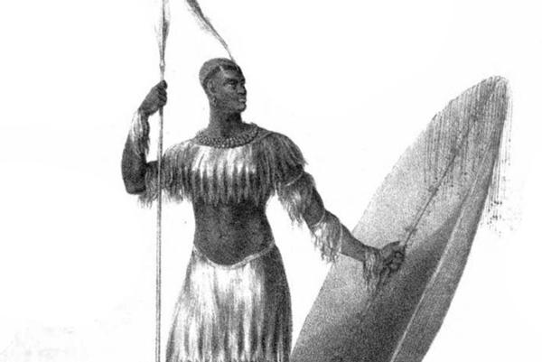 שאקה מלך זולו   איור: James King