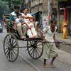 איש ריקשה, כלכותה, מערב בנגל, הודו