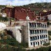 המקדש המרכזי במנזר גנדן, טיבט.